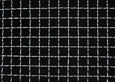 High Stability Iron Mild Steel Wire Mesh , 14 Gauge Woven Wire Mesh